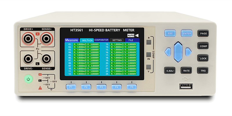3561 multi-channel Economic Battery internal meter