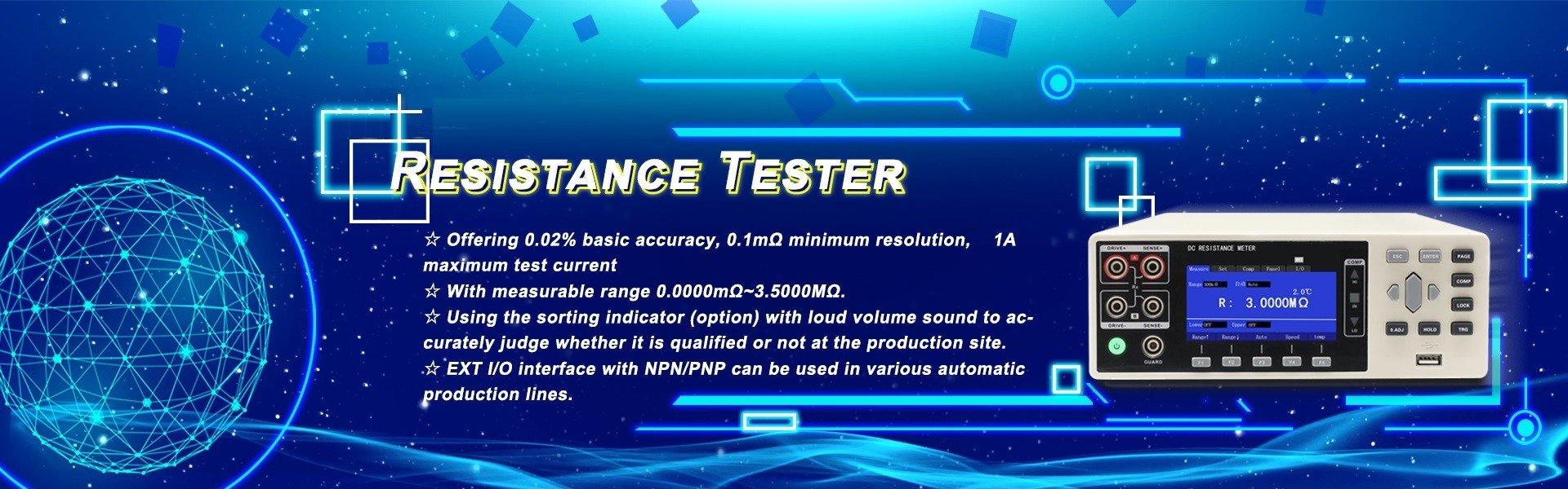 Resistance Tester Banner 03