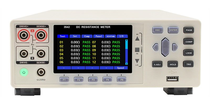 3542-12 multi-channel dc resistance meter 3