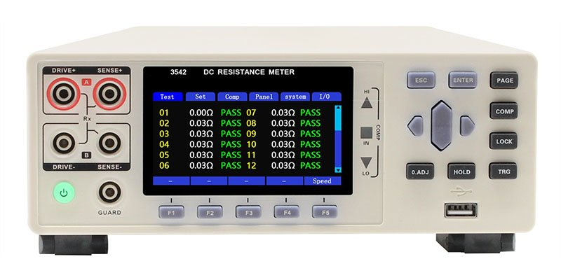 3542-24 multi-channel dc resistance meter 3
