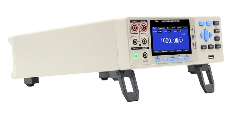 3545 High Speed High Precision DC Resistance Meter Left View