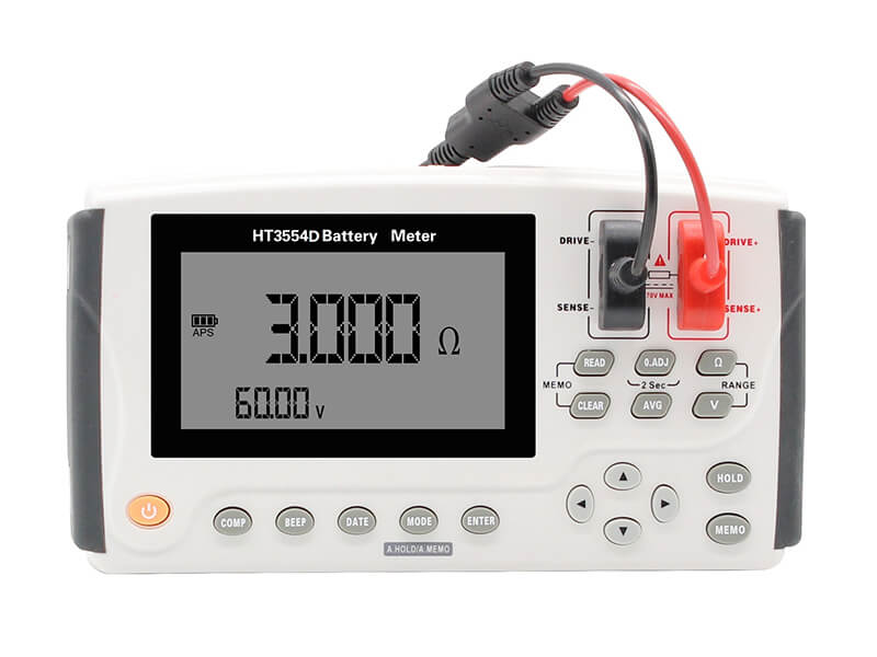 3554D Portable Battery Tester front