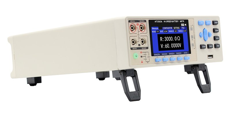 3563A-24 multi-channel Precision battery tester right view