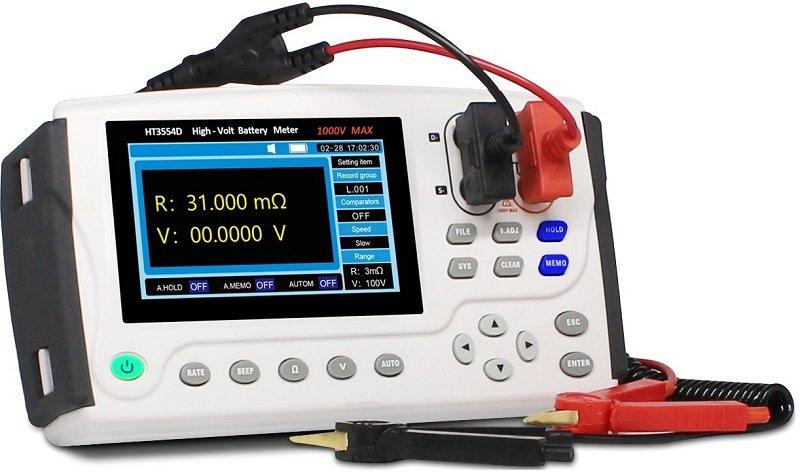 HT3554D portable battery tester