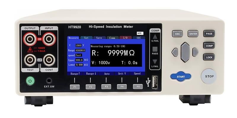 HT9920 High speed insulation tester 3